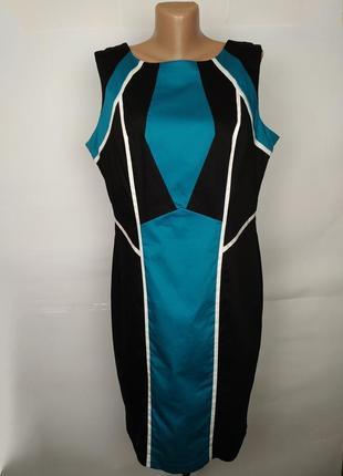 Платье футляр стильное стрейчевое marks&spencer uk 16/44/xl