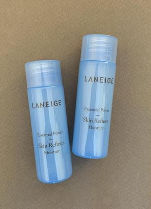 Миниатюра тонера для лица laneige essential power skin refiner moisture