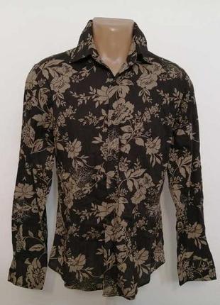 Рубашка river island с вышивкой, новая!