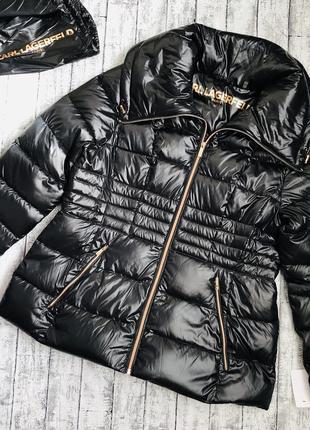 Демисезонная куртка пуховик karl lagerfeld paris