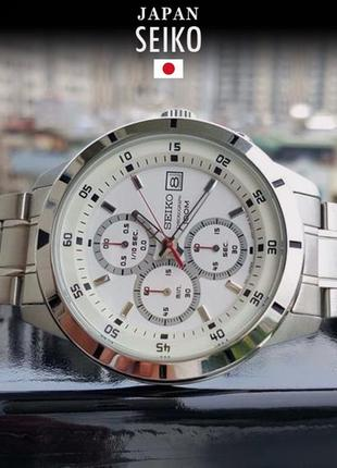 - 36% | мужские часы хронограф seiko chronograph sks557p1 (оригинальные, новые с биркой)