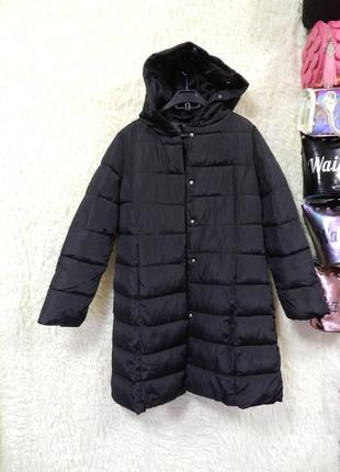 ✅ стёганая  куртка с капюшоном размер 44-46