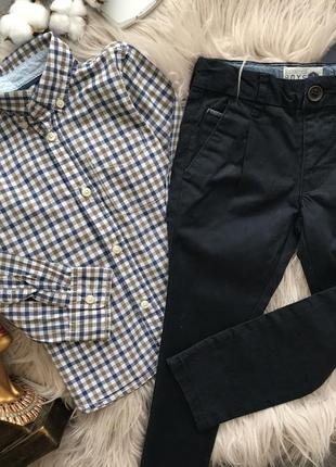 Набор 3 года брюки рубашка h&m