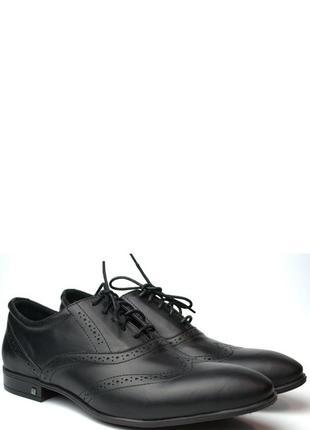 Lord protector rosso avangard черные мужские туфли больших размеров броги кожа