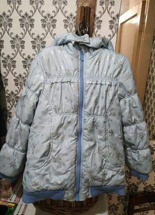Курточка для дівчинки зима