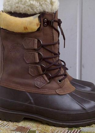 Термоботинки steel shank thinsulate crown & conrad bear shoe
