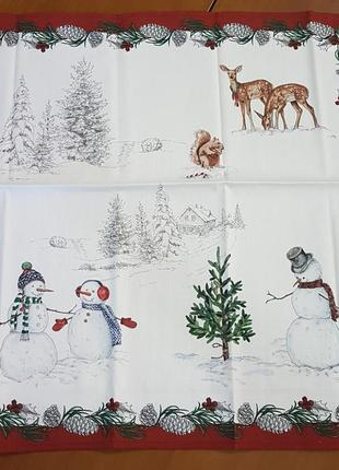 Салфетки полотенца на навый год!