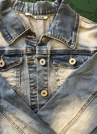 Куртка джинсовая/джинсова куртка