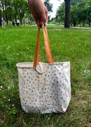 Эко-сумка / шоппер ручной работы