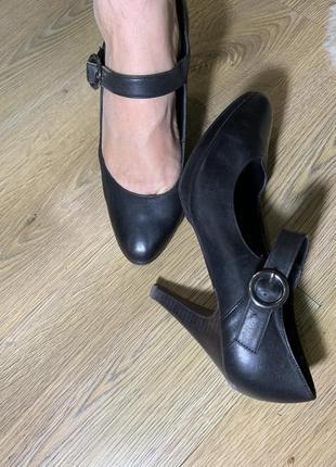 Кожаные туфли натуральная кожа