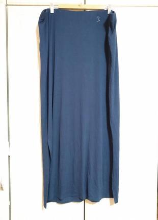 Трикотажная длинная юбка большого размера
