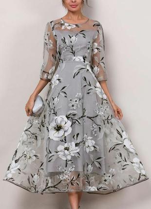 Очень красивое, невесомое платье flotyday4 фото