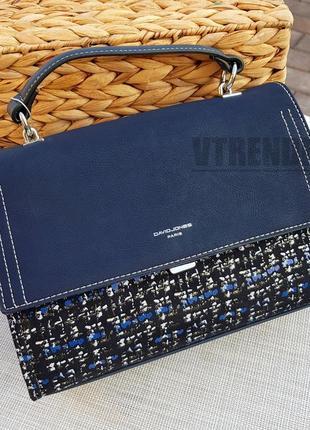 Бесплатная доставка #5471 blue david jones стильная замшевая сумочка кроссбоди
