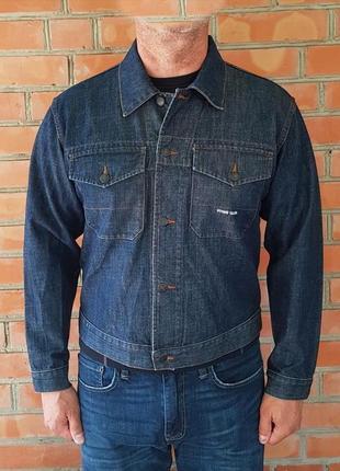 Stone island denims джинсовая куртка оригинал (m)