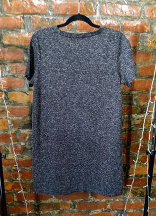 Стильное платье футболка свободного кроя с карманами george2 фото