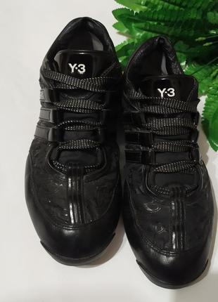 Женские кожаные кроссовки y-3. оригинал