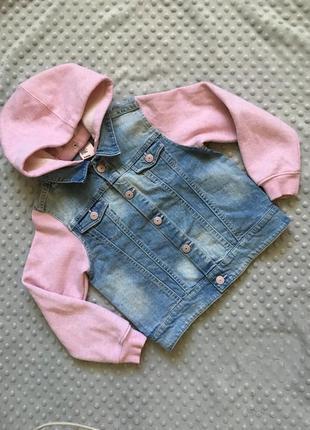 Джинсовка, джинсовая курточка, стильная джинсовка, джинсовая кофта, джинсовка h&m