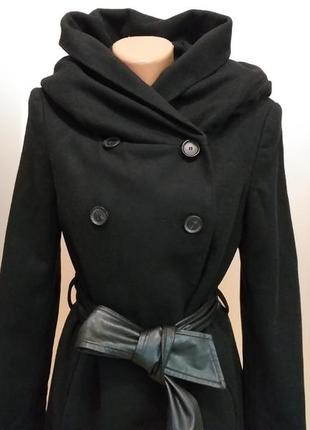 Пальто скапюшоном zara2 фото