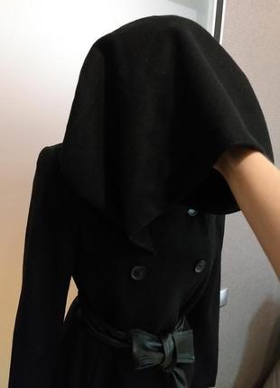 Пальто скапюшоном zara5 фото