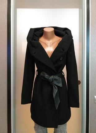 Пальто скапюшоном zara6 фото