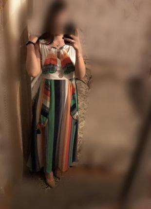Платье в пол , вечернее фирменное