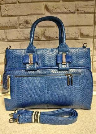 Шикарная сумочка из евро кожи