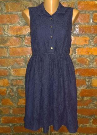 Кружевное платье из кружева гипюра george