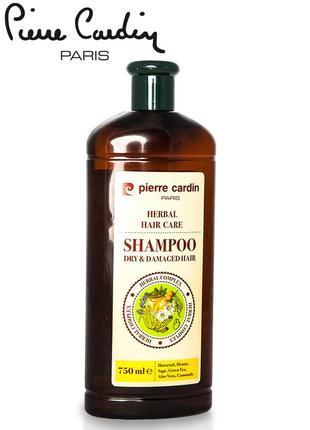Pierre cardin травяной шампунь для повреждённых волос