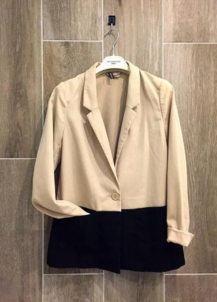 Стильный пиджак жакет h&m divided
