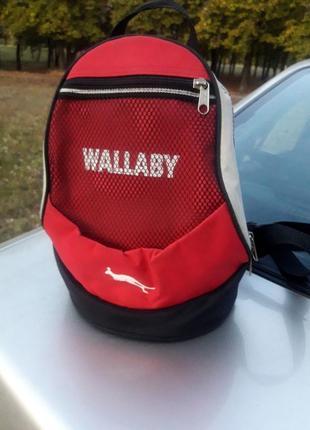 Крутой фирменный рюкзак wallaby