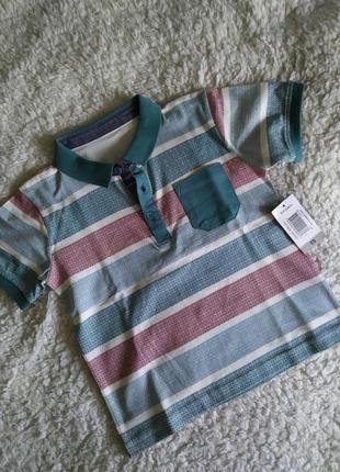 Нарядная футболка поло