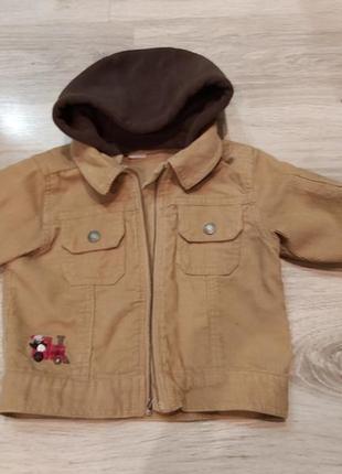 Carter's вельветова куртка