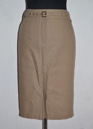 Bhs юбка, лен и коттон. новая, с биркой