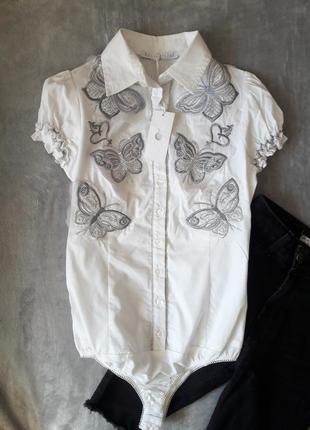 Рубашка боди с коротким рукавом италия