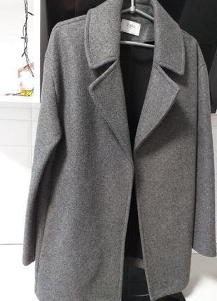 Стильное пальто от zara