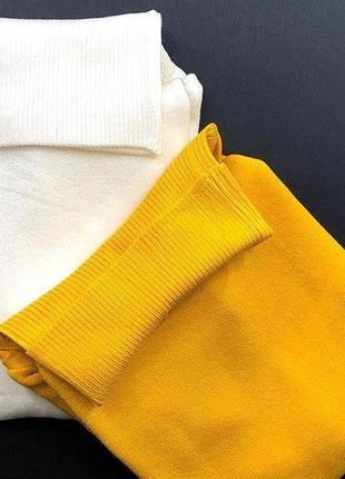 Тёплый гольф водолазка свитерок