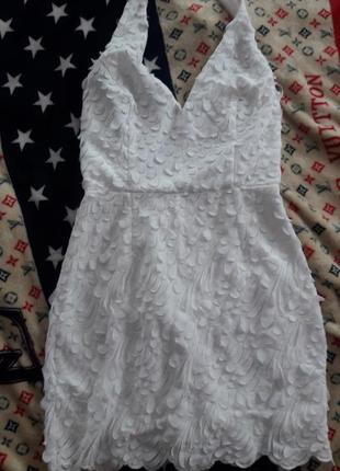Американське плаття сукня пірїнки  платье с перьями