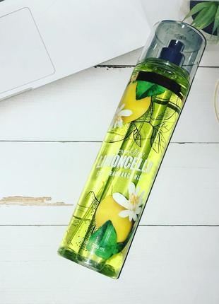 Bbw bath and body works limoncello spray парфюмированный спрей