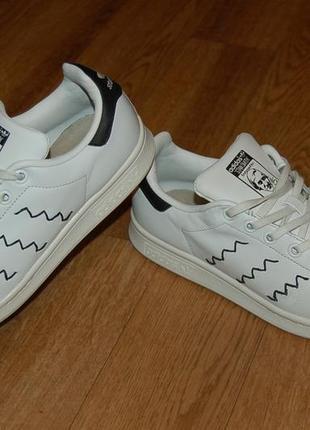 Кожаные кроссовки 37 р adidas stan smith оригинал отличное состояние