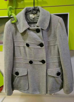 Пальто шерстяное фирмы marks&spencer р14