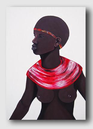 Картина african 50х70