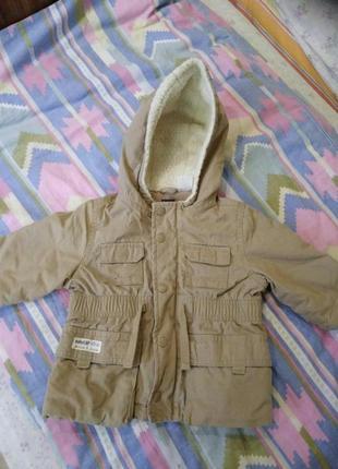 Курточка на девочку 6-12 мес демисезонная