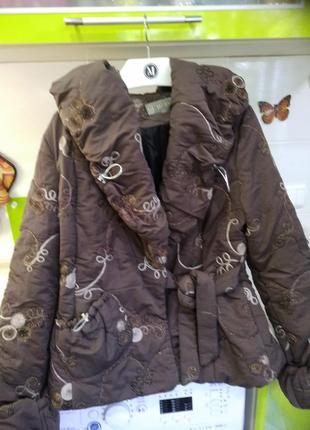 Куртка зимняя женская р 48