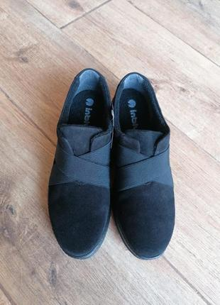 Стильные замшевые утепленные кроссовки  inblu