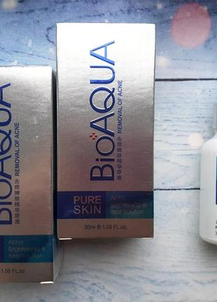 Эссенция анти-акне для проблемной кожи bioaqua pure skin