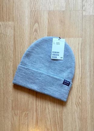 Демисезонная шапка для мальчика h&m, размер 12-14+лет, 158-170