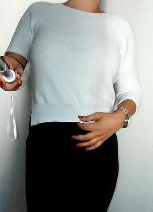 Необычный джемпер mint velvet с ассиметричным рукавом м-l/ 10-12 размер.
