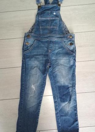 Комбінезон джинсовий джинси штани mantaray