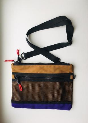 Трендовая сумка бананка кросс боди сумка на пояс