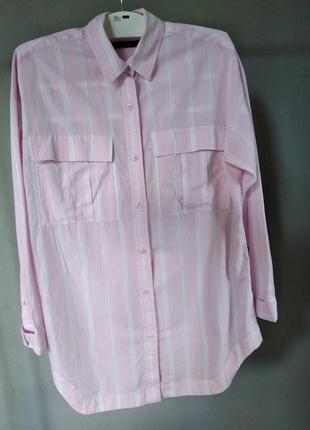 Очень красивая рубашка m&s